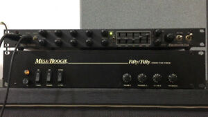 MESA BOOGIE ,, PREAMP, FORMULA ET POWER AMP FIFTY/FIFITY,