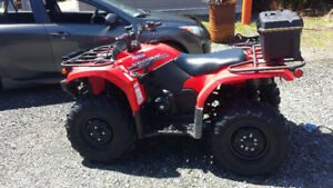 2014 Yamaha Kodiak 450 EPS ATV w/Plow