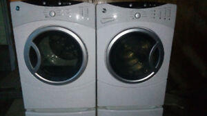 GE Front Load Washer and Dryer Set