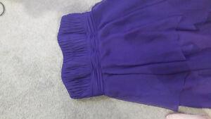 Royal purple bridesmaid dress Kitchener / Waterloo Kitchener Area image 2