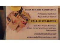 building and garden maintenance / handy man