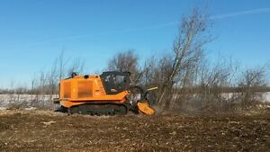 PrimeTech self-propelled, tracked mulchers from 160 to 600 HP Edmonton Edmonton Area image 7
