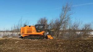 PrimeTech self-propelled, tracked mulchers from 160 to 600 HP Edmonton Edmonton Area image 7