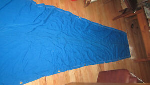 sailcover blue used on a 25 cal