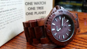 WEWOOD - 100% Natural Wood Watch - $30 OBO!!!