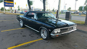 1966 Chevelle convertible 396 showroom condition