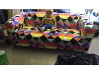IKEA Klippan sofa with covers - good to go!! RRP £184
