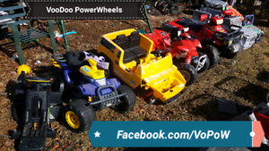 WANTED BROKEN USED ABUSED POWER WHEELS PEG PEREGO ANY RIDES 12V+
