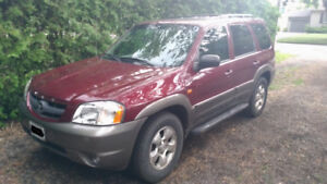 2003 Mazda Tribute LX 4WD as-is, priced to sell