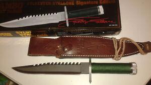 Rambo first blood signature knife