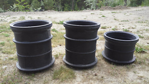 risers for septic tank