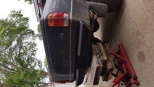 Custom  ranger rear bumper with receiver hitch