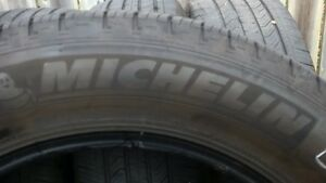 4 Used Michelin Primacy MXV4 P235/60R17 touring tires