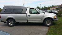 2000  Ford f150 8ft box