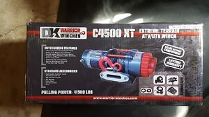BRAND NEW WARRIOR 4500LB WINCH WITH SYNTHETIC ROPE Kitchener / Waterloo Kitchener Area image 2