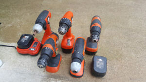 Black and Decker Cordless Drills