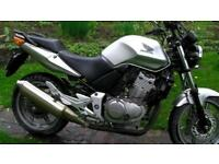 Honda CBF500, Silver, Good condition, Service, MOT, Warranty