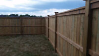 Windsor Privacy Fence $32 per foot 6ft Fencing 5x5 Posts