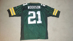 Mint Condition Green Bay Packers Size 52 Charles Woodson Jersey