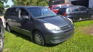 2004 Toyota Sienna CE certified and etested