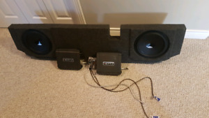 Hertz subs and amps