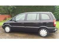 7 SEATER VAUXHALL ZAFIRA 1.6 (2003) full year mot, tow bar fitted