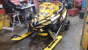 2001 mxz800 for parts sled