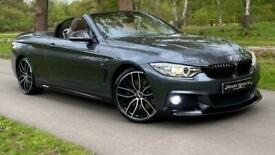 image for 2015 BMW 4 Series 430D M SPORT 2-Door Auto Convertible Diesel Automatic