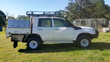 Toyota Landcriuser Twin cab ute 105 series