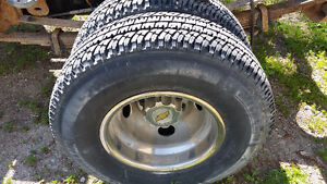 Chevy dually rims and tires