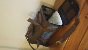 Small Sherpa Brown Fold-able Cat Carrier Kingston Kingston Area image 2