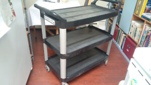 UTILITY CART / SERVICE TROLLEY by  Rubbermaid