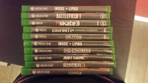 Xbox one Games.  20$ a piece