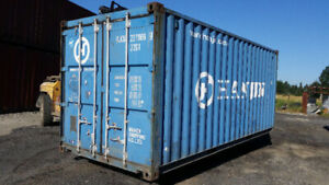 20' Cargo Worthy Steel Shipping Containers