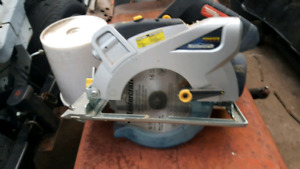 MasterCraft cordless saw, no batteries, new