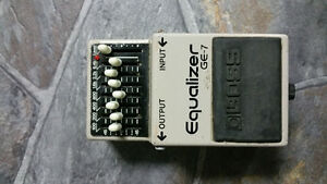 Boss EQ pedal for guitar