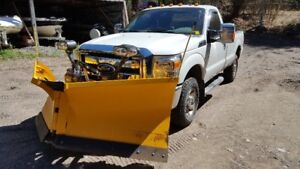 2011 Ford PU F250 SuperDuty (Meyers V Plow and Sander)