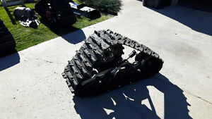 "Camoplast Tatou 4s ATV tracks and 50"" Moose Snowplow"