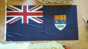 Canadian Blue Ensign 1921-1957 3ft x 6ft Heavy Sewn Naval Flag