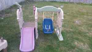 Little Tikes Baby Swing and Slide