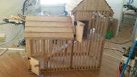Custom Rabbit / Bunny Hutch for sale