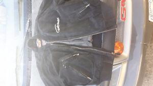 Harley dress Jacket large suede