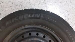 Lightly used Michelin X-Ice (with rims)