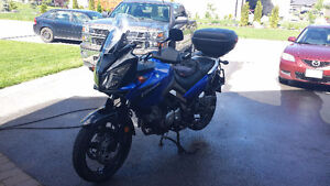 V STROM great condition,with accessories,1 mature owner