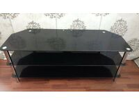 """55"""" Glass Television Stand"""