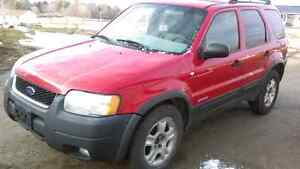2002 Ford Escape *As Is* Kingston Kingston Area image 2