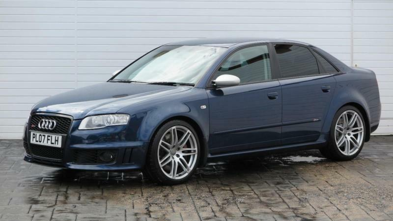 2007 audi a4 2007 07 audi rs4 4 2 v8 quattro 420 bhp petrol blue manual in middlesbrough. Black Bedroom Furniture Sets. Home Design Ideas