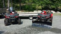 2 ATV's with Trailer - great package !