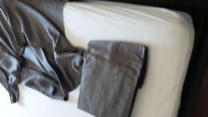 Unused Grey Bamboo sheets for King bed Deep pockets  Open bag