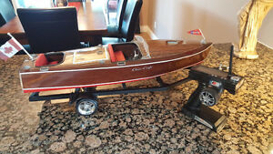 RC Chris-Craft, use as show and in water